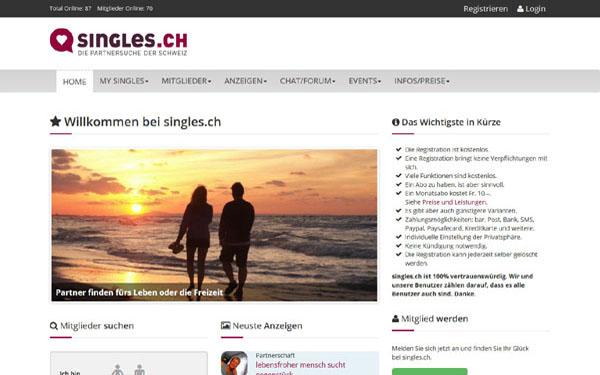 Flirten online schweiz